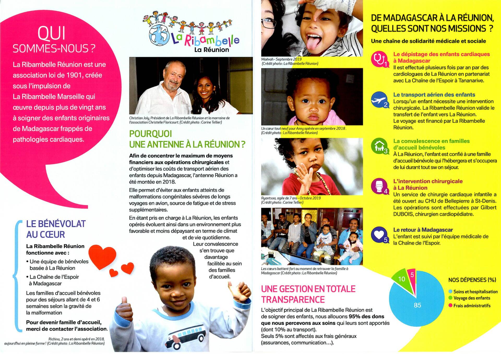 Soigner les enfants cardiaques malgaches à La Réunion 974 | La Ribambelle